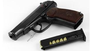 Пістолет Макарова і його травматична версія ПМ-Т від Ерма-Інтер