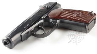 The PMSH-1. A less-lethal version of MAKAROV PM.