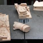 13. Последовательность изготовления деревянных накладок.