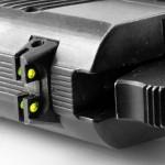 01. Целик с оптоволоконными стержнями для пистолетов «Форт» и «Хорхе».