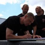 Чемпионат Украины по многоборью среди телохранителей. 197