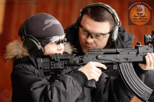 01. Оружие и дети. Программа безопасности Eddie Eagle от NRA.