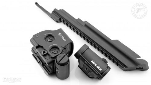 01. Aimpoint Micro H-1, EOTech XPS2 и крышка ствольной коробки от ME (Military Equipment).