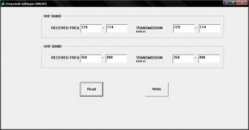 Раскрытие, закрытие частот на KG UV6D (Freq Lock Software).