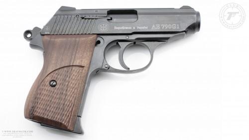 01. Травматический пистолет SCHMEISSER AE790G1. Травматическое оружие Украины. ШМАЙСЕР.