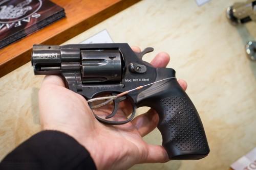 20. Травматический револьвер SAFARI 820G Steel.