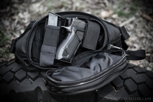 2. Поясная тактическая сумка для скрытого ношения оружия «9TACTICAL Casual Bag S»