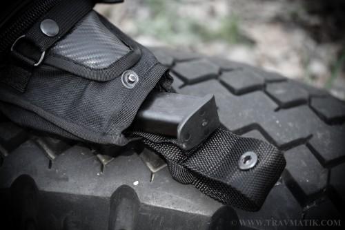 4. Поясная тактическая сумка для скрытого ношения оружия «9TACTICAL Casual Bag S»