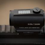 12. Обзор коллиматорных прицелов HOLOSUN HS403C и HS403G