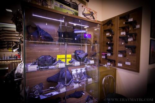 18. КУЛЯ. Оружейный магазин г. Киев. Левый берег, Осокорки, Позняки.