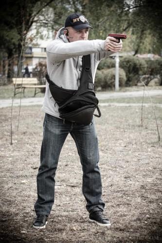 13. Сумка для телохранителей 9Tactical Pangolin Mini. Скрытое ношение оружия.