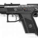 Травматический пистолет T-REX с подвижным стволом.