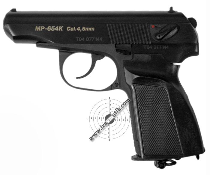 Пневматический пистолет MP- 654К