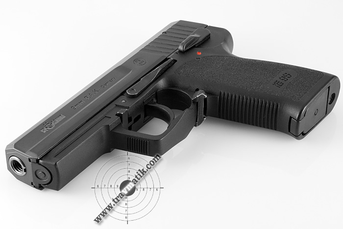 01 Пистолет Röhm RG96. Копия дизайна HK P8 от Heckler&Koch.