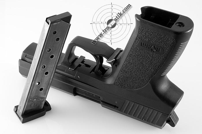 02 Пистолет Röhm RG96. Копия дизайна HK P8 от Heckler&Koch.