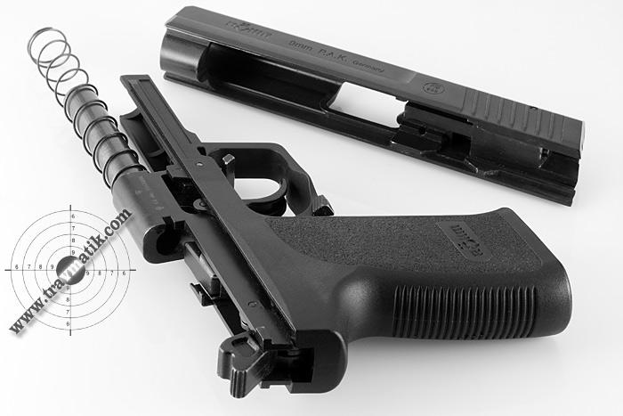 04 Пистолет Röhm RG96. Копия дизайна HK P8 от Heckler&Koch.