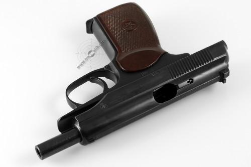 07. Пистолет Макарова (ПМ) на затворной задержке. Версия ПМ-Т. Травматик.