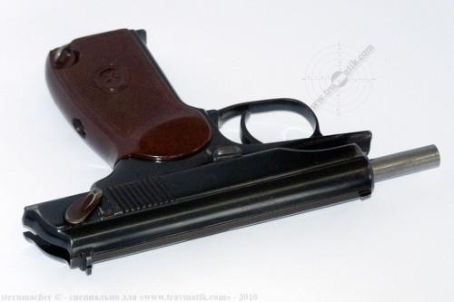 04. «ВИЙ». Травматический пистолет Макарова (ПМ) производства в/ч 4558, г. Нежин.
