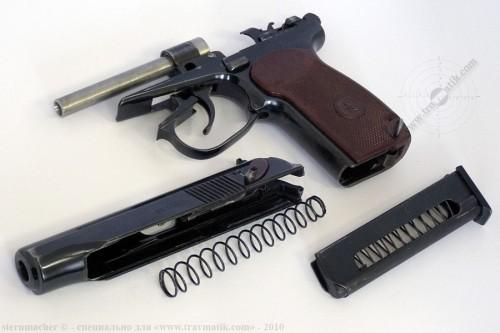 05. «ВИЙ». Травматический пистолет Макарова (ПМ) производства в/ч 4558, г. Нежин.