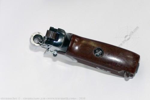 06. «ВИЙ». Травматический пистолет Макарова (ПМ) производства в/ч 4558, г. Нежин.
