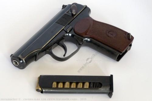 11. «ВИЙ». Травматический пистолет Макарова (ПМ) производства в/ч 4558, г. Нежин.