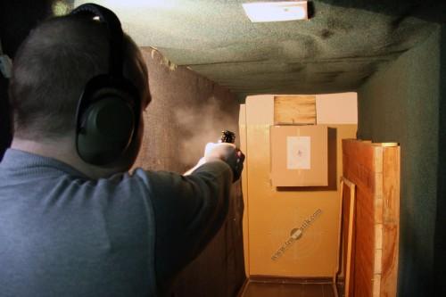 13. Травматический револьвер «SAFARI 820G». Тестовый отстрел.