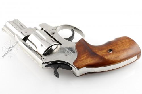 15. Травматический револьвер «SAFARI 820G». Никель.