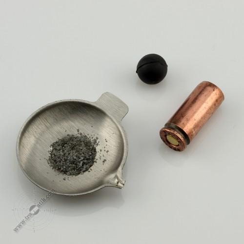 02. Травматический патрон «ФОРТ-Т». Порох, хильза, пуля.