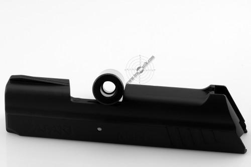 14. Травматический пистолет «SAFARI MINI» (САФАРИ МИНИ). Ствол на просвет.