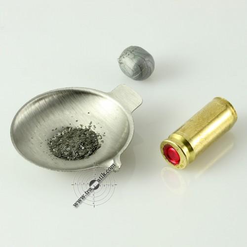 02. Травматический патрон «ТЕРЕН-3Ф». Пуля, гильза, порох.