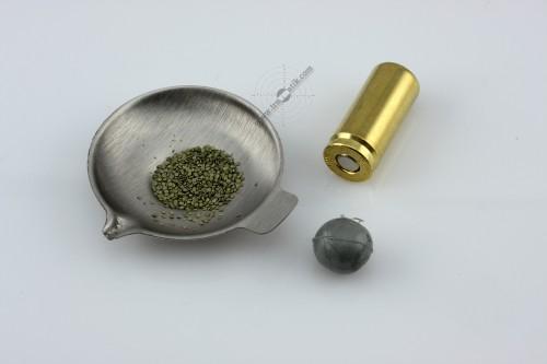 02. Травматический патрон «ФОРТ-Т». Версия 2010 года. Порох, пуля, гильза.