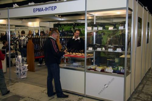 01. ООО «ЕРМА-Интер» на выставке «Оружие и безопасность 2010».