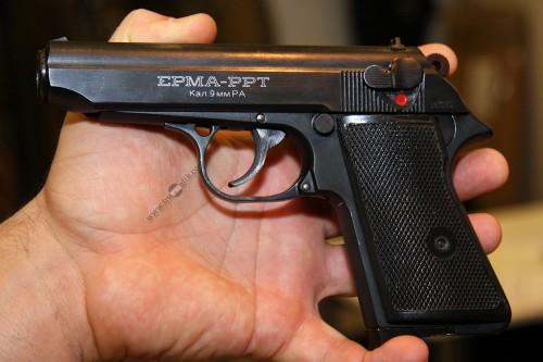 02. Травматический пистолет «ЕРМА PPТ»