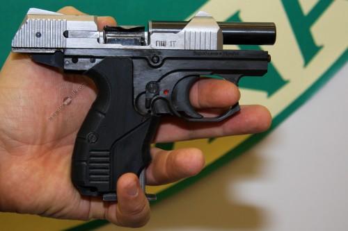 10. Пистолет ШЕВЧЕНКО ПШ-1Т с прямой подачей патрона кал. 9 мм P.A.