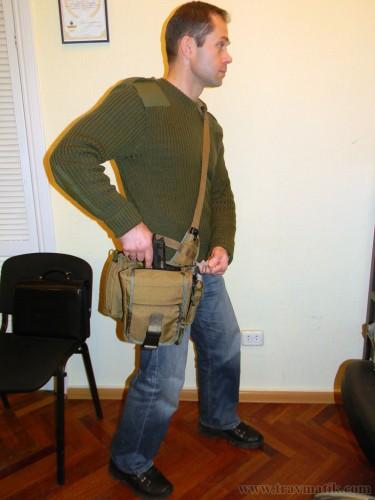20. Тактическая сумка «Телохранитель 9-XL».