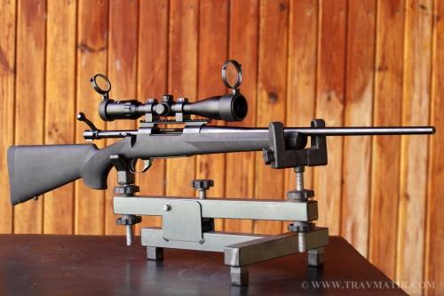 11. Охотничий карабин «Howa Hogue BLK STK» кал. 30-06