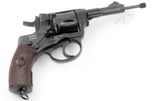 01. Травматический револьвер «СКАТ 1РкМ .45 RUBBER» (НАГАН «45-го» калибра.)