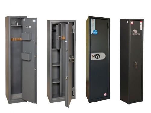 02. Сейфы, оружейные сейфы и металлические шкафы.