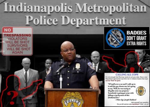 Лицензия на отстрел полицейских.