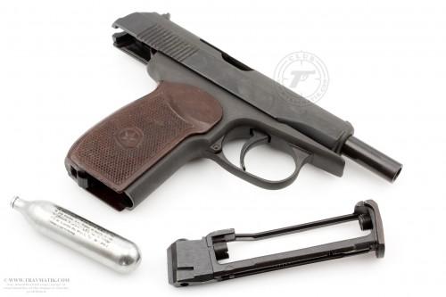 04. ИЖмех Байкал МР-654К. Пневматический пистолет МАКАРОВА ПМ.